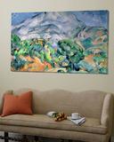 Mont Saint Victoire, 1900 Posters by Paul Cézanne