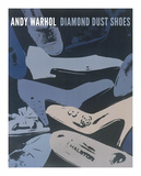 Diamond Dust Shoes, 1980-1 (Blue-Grey) Giclée-tryk af Andy Warhol