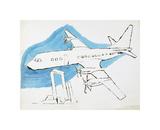 Airplane, C. 1959 Giclee Print by Andy Warhol