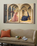 The Annunciation, circa 1438-45 Prints by  Fra Angelico