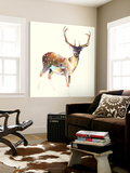 Deer Wearing Gym Socks Posters by Charmaine Olivia