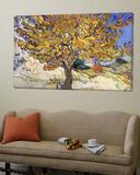 Mullbärsträd, 1889 Posters av Vincent van Gogh