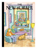 The New Yorker Cover - March 4, 2013 Regular Giclee Print by Roz Chast