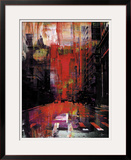 New York Color XIV Framed Giclee Print by Sven Pfrommer