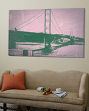 Golden Gate Bridge Poster by  NaxArt