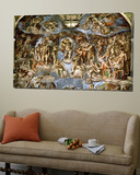 Sistine Chapel: the Last Judgement, 1538-41 Plakater av Michelangelo Buonarroti,
