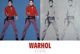Elvis® I and II, 1964 Lámina giclée por Andy Warhol