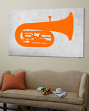 Orange Tuba 2 Posters by  NaxArt
