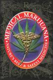 Medical Marijuana Pot Prints