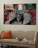 Elizabeth I, Armada Portrait, circa 1588 Posters by George Gower