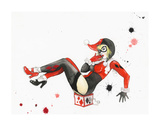 Harley Quinn Limited Edition by Lora Zombie