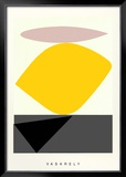 Souzon Prints by Victor Vasarely