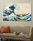 The Great Wave of Kanagawa , c.1829 Art by Katsushika Hokusai