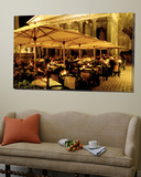 Cafe, Pantheon, Rome Italy Poster