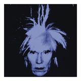 Andy Warhol - Self Portrait, 1986 Digitálně vytištěná reprodukce