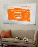 Orange Boom Box Posters av  NaxArt