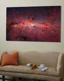 The Center of the Milky Way Galaxy Plakater