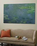 Ninfeas Lámina por Claude Monet
