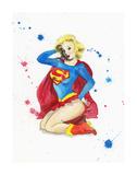 Supergirl Edition limitée par Lora Zombie