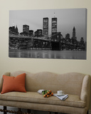 Brooklyn Bridge, Manhattan, New York City, New York State, USA Affiche