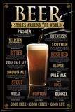 Beer Styles Around the World Prints