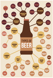 Types of Beer Posters