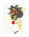 Batgirl Limited Edition by Lora Zombie