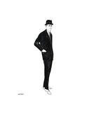 Male Fashion Figure, c. 1960 Giclée-tryk af Andy Warhol