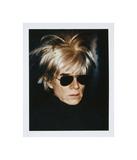 Andy Warhol - Self-Portrait in Fright Wig, 1986 Digitálně vytištěná reprodukce
