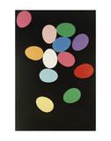 Eggs, 1982 (Multi) Lámina giclée por Andy Warhol