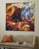 A Stellar Nursery known as R136 in the 30 Doradus Nebula Prints