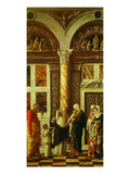The Circumcision of Christ, from Triptych Altarpiece Giclee Print by Andrea Mantegna
