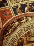 Ceiling Frescos, Chapel of Saint John Photographic Print by Pietro Perugino (Workshop of)