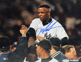 Doc Gooden Yankee No Hitter Carry Off Horizontal Foto