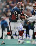 Thurman Thomas Signed Handoff Photo