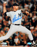 John Wetteland 1996 WS Home Pitching Photo