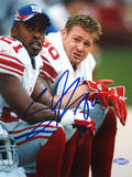 Jeremy Shockey on the Bench with Tiki Photo