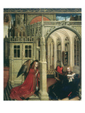 The Annunciation Giclee Print by Master of Flemalle 