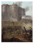 The Taking of the Bastille, July 14, 1789, Detail Giclee Print by Jean Baptiste Lallemand