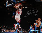 J.R. Smith Signed Horizontal Dunk vs Magic Photo Foto
