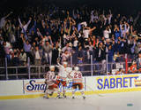 Stephane Matteau Game 7 GWG Celebration Horizontal Photo