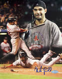 Mike Lowell 07 World Series MVP Collage Autographed Photo (Hand Signed Collectable) Photo