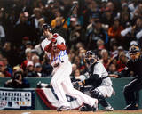 Mike Lowell 2007 World Series Home Swing Autographed Photo (Hand Signed Collectable) Photo