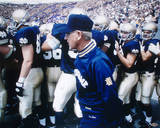 Chris Zorich With Lou Holtz Photo