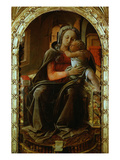 Madonna and Child Gicle-tryk af Fra Filippo Lippi