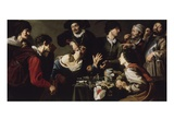 The Charlatan or Tooth Puller, 1620-25 Giclee Print by Theodor Rombouts