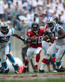 Warrick Dunn Run vs Panthers Photo
