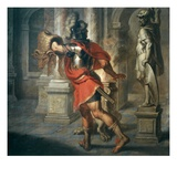 Jason and the Golden Fleece (Greek Hero Who Exchanged Fleece for His Kingdom), 181x195cm Giclee Print by Erasmus Quellinus