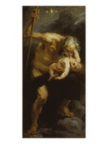 Saturn Devouring Child 1636-40 180 X 87Cm Premium Giclee Print by Sir Peter Paul Rubens