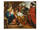 The Adoration of the Magi, Flemish School, 1630 Giclee Print by Gerard Seghers